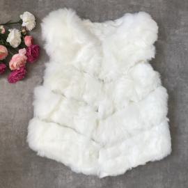 Vesta de blana Elsa alb