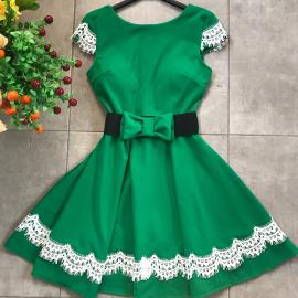 Rochie eleganta cu curea in talie Grace