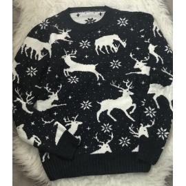 Pulover tricotat cu Reni Dream