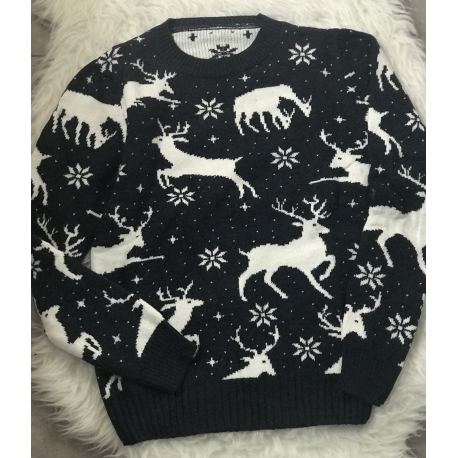 Pulover tricotat cu Reni