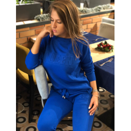 Trening Tricot Queen albastru