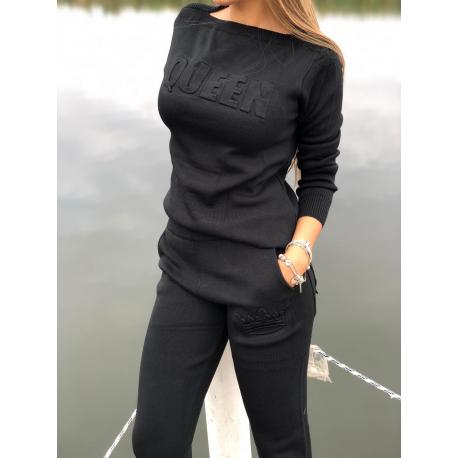 Trening Tricot Queen negru