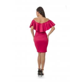 Rochie de dama cu volane Sasa