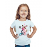 Tricou copil Super mom girl