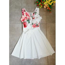 Rochie clos April cu imprimeuri florale