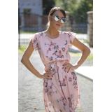Rochie clos cu imprimeuri florale Nely