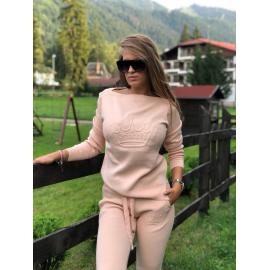 Trening Tricot Princess roz pudra