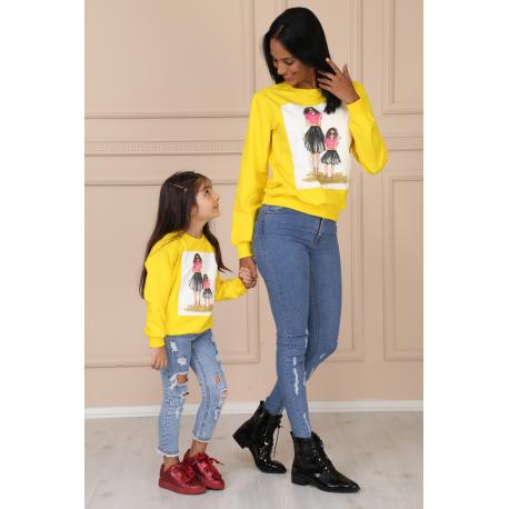 Set bluze Mama-Fiica Fancy