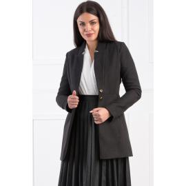 Palton scurt elegant negru