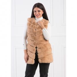 Vesta lunga de blana model Cocolino