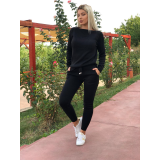 Trening tricot Mickey Mouse Negru