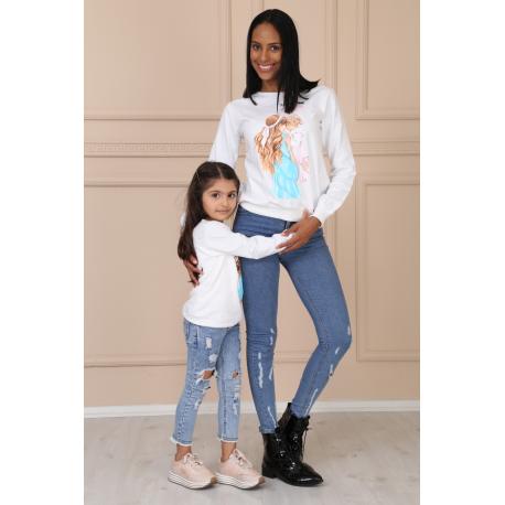 Set bluze Mama-Fiica Momy's girl