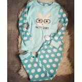 Pijama de dama Pretty Rabbit blue
