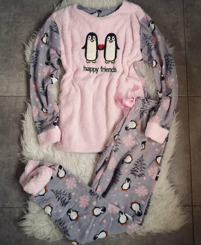Pijama de dama Happy Friends