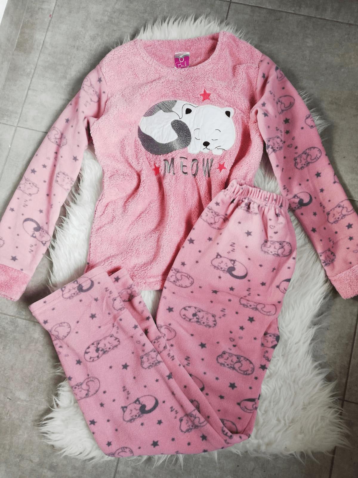 Pijama de dama Meow