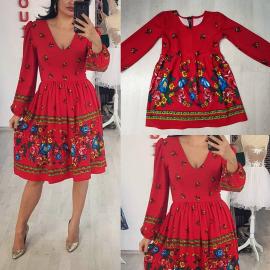 Set rochii Mama-Fiica cu model traditional
