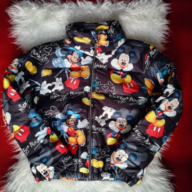 Geaca dama cu model Mickey Mouse