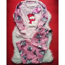 Pijama de dama Snowman