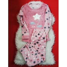 Pijama de dama model cu stelute