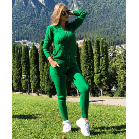 Trening din tricot Alessia Verde