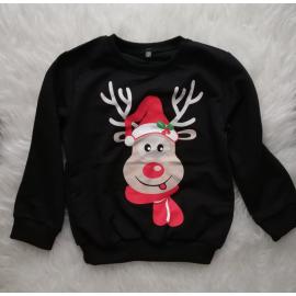 Bluza copil Rudolf negru