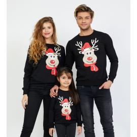 Set Bluze Rudolf Family negru