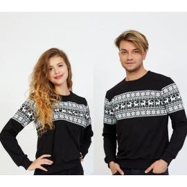 Set bluze pentru El si Ea Winter negru