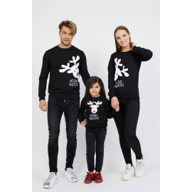Set Bluze Family Team Rudolf Negru