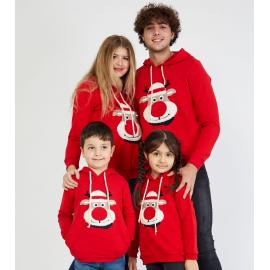 Set hanorace Family cu Ren Rosu