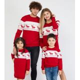 Set rochii Mama-Fiica cu motive de iarna
