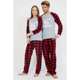 Set pijamale pentru El si Ea Xmas