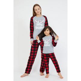 Set pijamale Mama-Copil Xmas