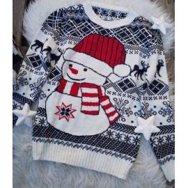 Pulover dama Snowman