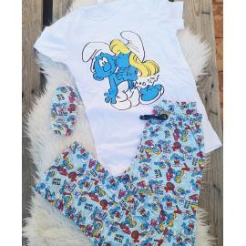 Pijama dama Strumfi