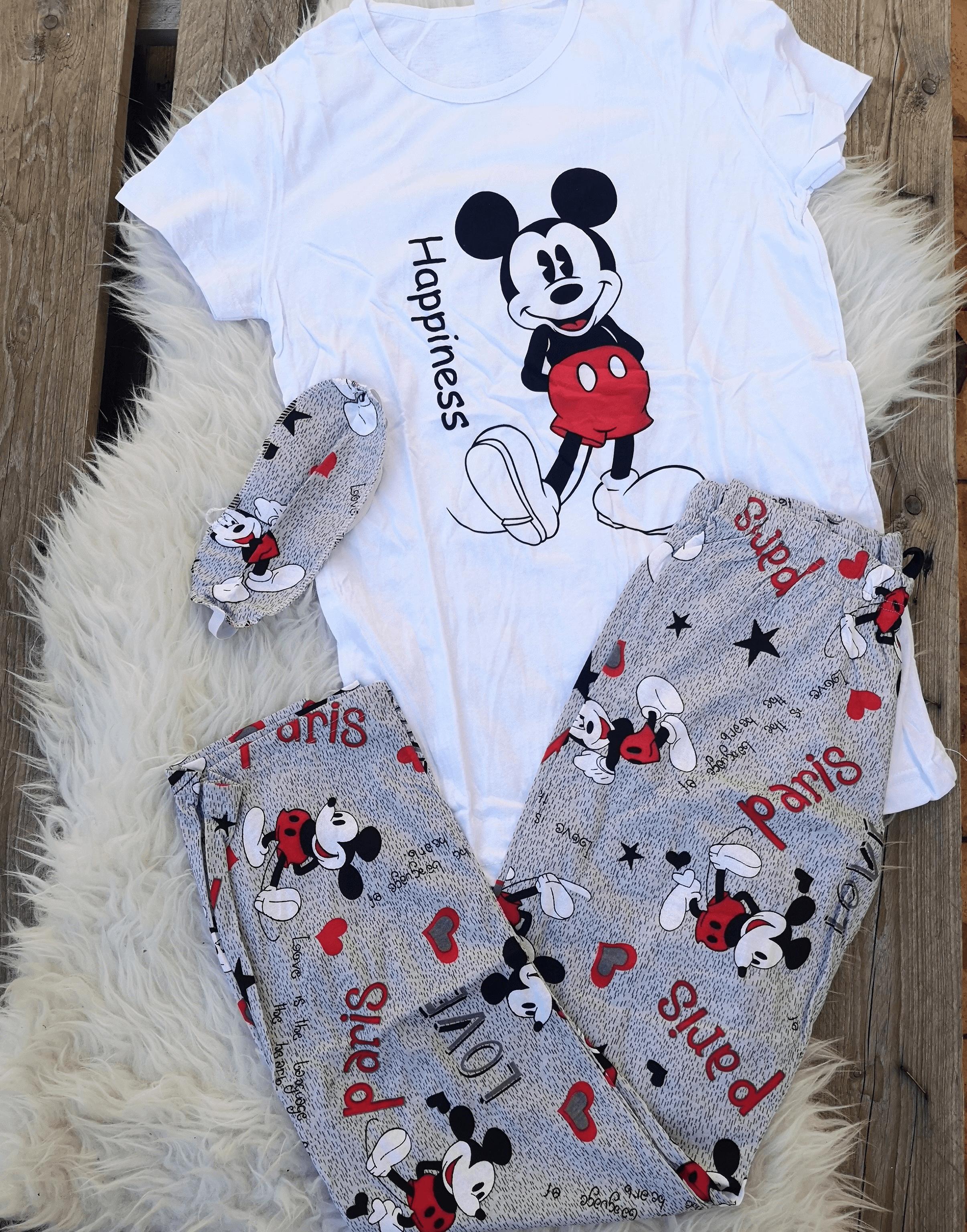 Pijama dama Mickey Alb