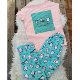 Pijama dama Bufnita
