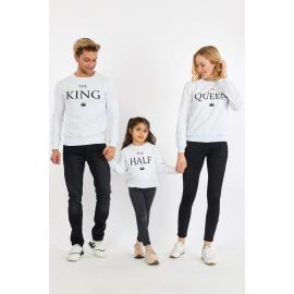 Set Bluze Family The King Alb