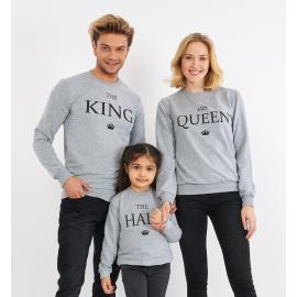 Set Bluze Family The King Gri