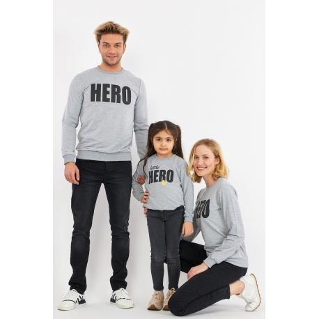 Set Bluze Family Hero Gri