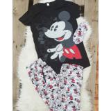 Pijama dama MK Mouse Negru