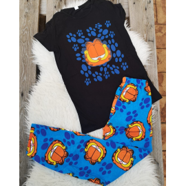 Pijama dama Garfield Negru