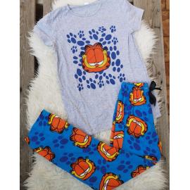 Pijama dama Garfield Gri