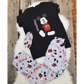 Pijama dama Mickey Negru