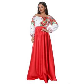 Set rochii Mama-Fiica cu motive traditionale Loret