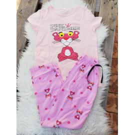 Pijama dama Pink Panther roz