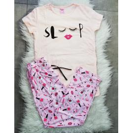 Pijama dama Sleepy roz