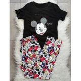 Pijama dama Mickey Best Negru
