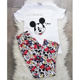 Pijama dama Mickey Best Alb