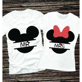 Set tricouri pentru El si Ea Mr si Mrs