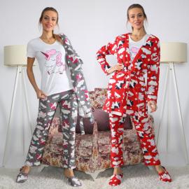 Set pijamale 3 piese